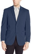 Louis Raphael Men's Tailored Stretch Cotton Blend Blazer