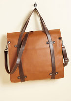 ModCloth Camp Director Tote in Caramel