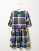 Boden Check Woven Dress