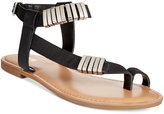 Bar III Verna Embelished Flat Sandals, Only at Macy's