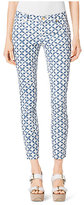 Michael Kors Printed Cropped Jeans Petite