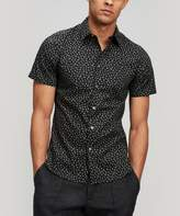 PS by Paul Smith Ditzy Print Cotton Short-Sleeve Shirt