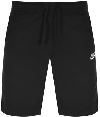 Nike Club Logo Shorts Black