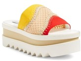 Stella McCartney Women's Flatform Slide Sandal