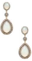 Amrapali 18K Yellow Gold, Opal & 2.65 Total Ct. Diamond Drop Earrings