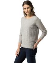 Tommy Hilfiger Cotton Cashmere Textured Sweater