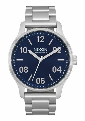 Nixon Men's Quartz Watch with Stainless Steel Strap Black 21 (Model: A1242-1849-00)
