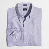 J.Crew Factory Slim washed shirt in horizontal stripe