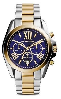 Michael Kors Bradshaw Two-Tone Watch, 43mm