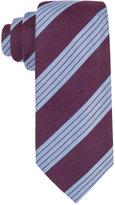 Tasso Elba Men's Textured Stripe Tie, Created for Macy's