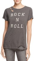 Daydreamer Rock N Roll Distressed Tee