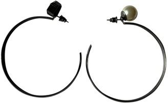 Helene Zubeldia Metallic Metal Earrings