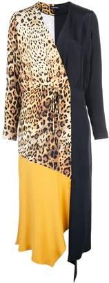 Cushnie leopard print dress