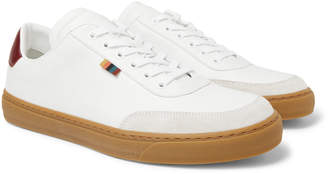 Paul Smith Earl Suede-Trimmed Leather Sneakers - Men - White