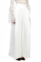 Gracia White Wide Leg Pants