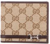 Gucci Mini Horsebit Bifold Wallet