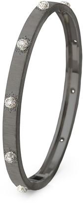 Buccellati 'Macri Classica' diamond black gold bangle