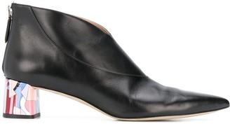 Emilio Pucci Clipper low heel boots