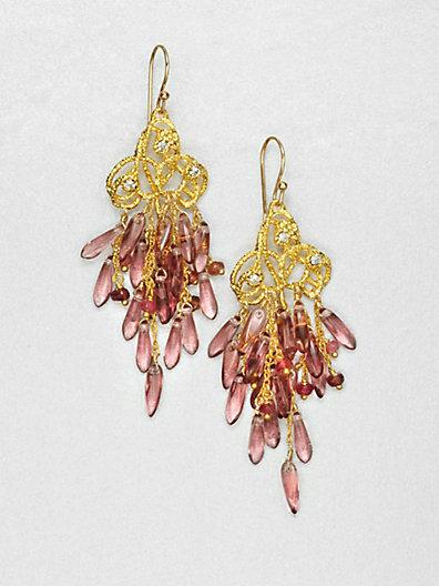 Alexis Bittar Pastel Cluster Earrings