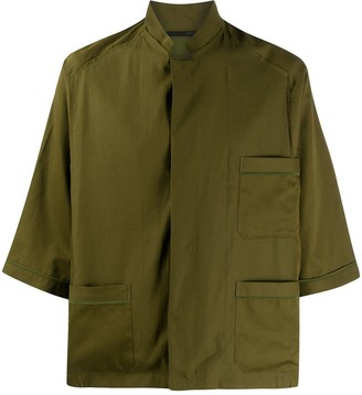 Haider Ackermann Multiple Pocket Boxy-Fit Shirt