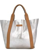 Brunello Cucinelli metallic tote - women - Leather - One Size