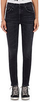 R 13 Women's High-Rise Skinny Jeans-BLUE