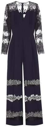 Huishan Zhang Faye wool-blend jumpsuit