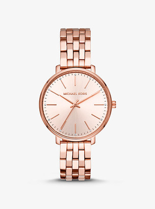 Michael Kors Pyper Rose Gold-Tone Watch - Rose Gold