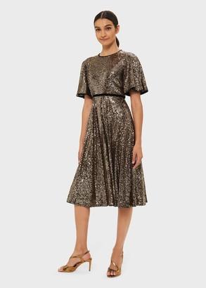 Hobbs Betsey Sequin Dress