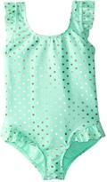 Hula Star Girls' Milkshake One Piece Swimsuit (2T6X) - 8154248
