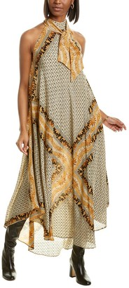 Mes Demoiselles Scelerate Silk Maxi Dress