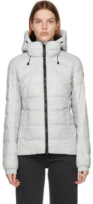 Canada Goose Grey Down Packable Abbott Jacket