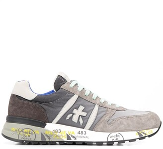 Premiata Lander stamped sole sneakers