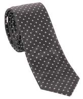 Ungaro Men's Black Silk Tie.