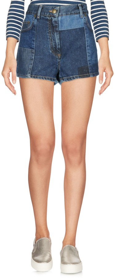 Alexander McQueen McQ Denim shorts