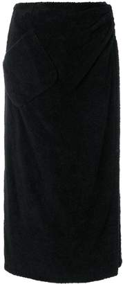 Chanel Pre-Owned 1992 wrapped midi skirt