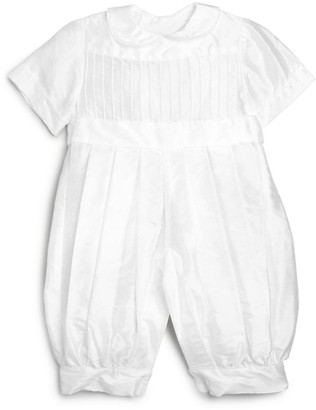 Isabel Garreton Baby Boy's Tucks Silk Christening Suit