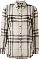 Burberry house check shirt - women - Cotton - XS