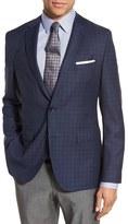 BOSS Men's 'Jeen' Trim Fit Check Wool Sport Coat
