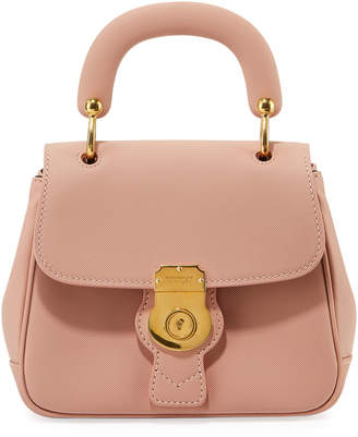 Burberry Trench Small Leather Top Handle Bag, Light Pink