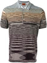 Missoni Ombre Lightweight polo shirt - men - Cotton - 46