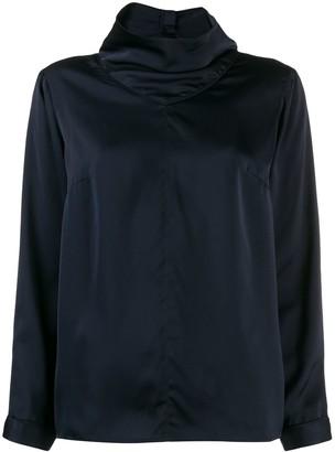 BA&SH Cody high neck blouse