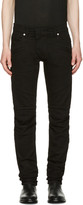 Pierre Balmain Black Panelled Jeans