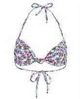 Thumbnail for your product : Frankie's Bikinis Gabe Floral Bikini Top