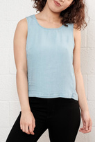 Noisy May Chambray Tank Top