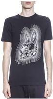 McQ by Alexander McQueen Bunny Skeleton Cotton T-shirt