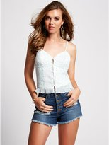 GUESS Sleeveless Camisole Crop Top
