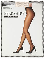 Berkshire Plus Sandalfoot Fishnet Pantyhose