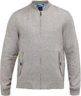 Ted Baker Rollin Linen-blend Bomber Jacket