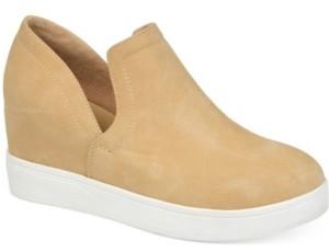 Journee Collection Women's Cardi Sneaker Wedge Women's Shoes